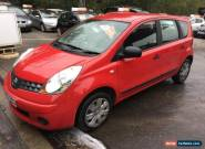 2008 Nissan Note 1.4 Visia 5dr 5 door MPV  for Sale