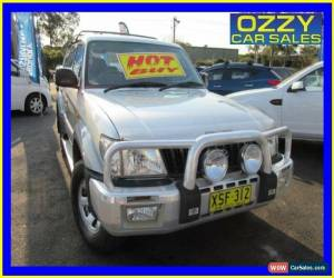 Classic 2001 Toyota Landcruiser Prado KZJ95R GXL (4x4) Silver Manual 5sp M Wagon for Sale