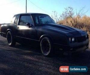 Classic Chevy Monte Carlo for Sale