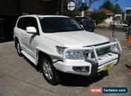 2011 Toyota Landcruiser VDJ200R 09 Upgrade Sahara (4x4) Pearl White Automatic A for Sale