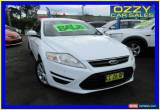 Classic 2012 Ford Mondeo MC LX Tdci White Automatic 6sp A Hatchback for Sale