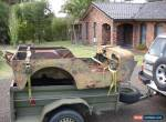 WWII Jeep - Willys or GPW Tub fits both for Sale