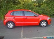 VOLKSWAGEN POLO S 60 Red Manual Petrol, 2012  for Sale