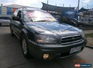 2001 Subaru Outback MY01 Limited Edition Green Manual 5sp M Wagon for Sale