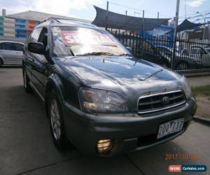 Classic 2001 Subaru Outback MY01 Limited Edition Green Manual 5sp M Wagon for Sale