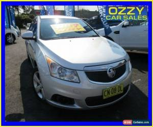 Classic 2012 Holden Cruze JH MY12 Equipe Silver Automatic 6sp A Sedan for Sale