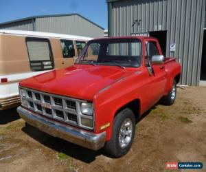 Classic 1979 Chevy Stepside Pickup for Sale