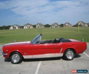 Classic 1965 Ford Mustang GT-350 Convertible for Sale