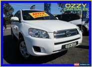2010 Toyota RAV4 GSA33R 08 Upgrade CV6 White Automatic 5sp A Wagon for Sale