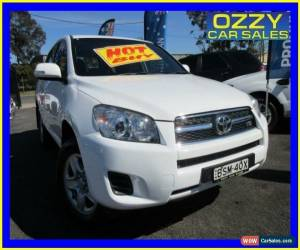 Classic 2010 Toyota RAV4 GSA33R 08 Upgrade CV6 White Automatic 5sp A Wagon for Sale