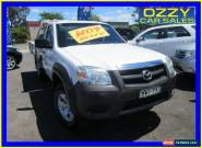2011 Mazda BT-50 09 Upgrade Boss B3000 DX (4x4) White Manual 5sp M Cab Chassis for Sale