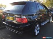 55 REG BMW X5 3.0D SPORT LEATHER, SAT NAV, PAN ROOF, H/E/SEATS STUNNING SPEC for Sale