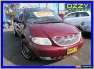 2001 Chrysler Grand Voyager RG Limited Maroon Automatic 4sp A Wagon for Sale