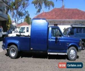 Classic 2000 Ford F350 True Blue Manual M Cab Chassis for Sale