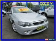 2007 Ford Falcon BF MkII XR6 Silver Manual 6sp M Sedan for Sale