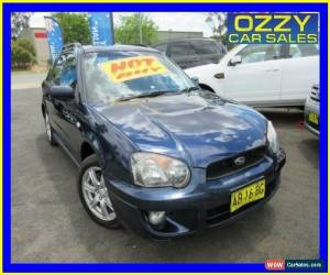 Classic 2004 Subaru Impreza MY05 RS (AWD) Blue Automatic 4sp A Hatchback for Sale