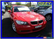 2006 BMW 320i E90 Red Automatic 6sp A Sedan for Sale