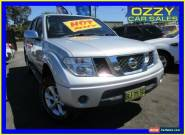 2007 Nissan Navara D40 ST-X (4x4) Silver Manual 6sp M Dual Cab Pick-up for Sale
