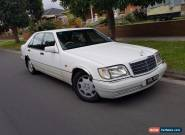 1994 Mercedes-Benz S320 Auto EXCEPTIONAL CONDITIONS in & out,  for Sale