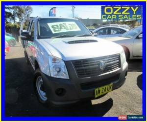 Classic 2008 Holden Rodeo RA MY08 LX Silver Manual 5sp M Crew Cab P/Up for Sale