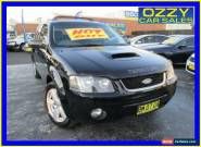 2007 Ford Territory SY Turbo (4x4) Black Automatic 6sp A Wagon for Sale