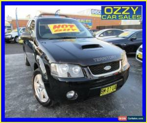 Classic 2007 Ford Territory SY Turbo (4x4) Black Automatic 6sp A Wagon for Sale