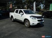 2012 HOLDEN COLORADO LX 4X4 DIESEL TURBO DUAL CAB 6 SPD MANUAL for Sale