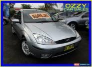 2002 Ford Focus LR LX Silver Automatic 4sp A Sedan for Sale