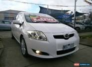 2008 Toyota Corolla ZRE152R Conquest White Automatic 4sp A Hatchback for Sale