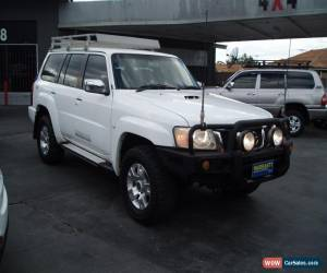 Classic 2010 NISSAN PATROL ST 3.0 DIESEL TURBO 4X4 GU VII 7 SEATER 5 SPEED WAGON for Sale
