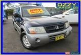 Classic 2003 Mitsubishi Pajero NP GLS LWB (4x4) Blue Automatic 5sp A Wagon for Sale
