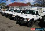 Classic 2010 Toyota Landcruiser VDJ79R 09 Upgrade GXL (4x4) White Manual 5sp M for Sale