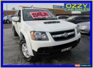 2010 Holden Colorado RC MY11 LX-R (4x4) White Manual 5sp M for Sale