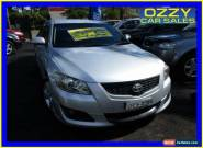 2007 Toyota Aurion GSV40R Sportivo SX6 Silver Automatic 6sp A Sedan for Sale