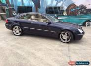 mercedes benz clk 320 for Sale