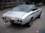 1972 Chevrolet Chevelle Heavy Chevy 402 Concourse Show,mustang,torana,falcon,gts for Sale
