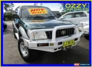 1998 Toyota Landcruiser GXL (4x4) Green Automatic 4sp A Wagon for Sale