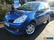 2007 Renault Clio 1.4 PRIVILEGE 5 Door Blue FSH Long MOT Low Mileage Finance Ava for Sale