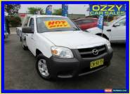 2011 Mazda BT-50 09 Upgrade Boss B2500 DX White Manual 5sp M Cab Chassis for Sale