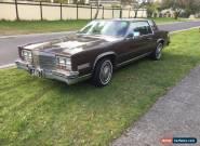 Cadillac El Dorado 1981 Gas  Cruiser custom plates (cadi) reg runs drives great  for Sale