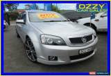 Classic 2007 Holden Caprice WM Silver Automatic 6sp A Sedan for Sale