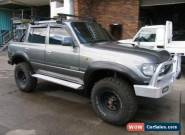 1993 Toyota Landcruiser 80 (4x4) Grey Manual 5sp M Wagon for Sale
