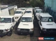 2012 Toyota Landcruiser VDJ79R MY12 Update GX (4x4) White Manual 5sp M for Sale