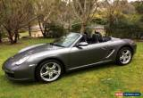 Classic Porshe Boxster for Sale