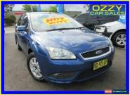 2008 Ford Focus LT CL Blue Automatic 4sp A Hatchback for Sale