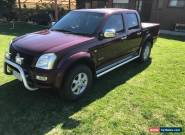2005 Holden Rodeo Ute RA LT Unleaded / LPG - Reg and RWC for Sale