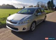 2010 Toyota Auris T SPIRIT PETROL/ELECTRIC silver CVT for Sale