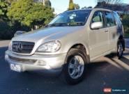 2002 Mercedes-Benz ML 270 Cdi (No RWC) for Sale