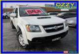 Classic 2010 Holden Colorado RC MY11 LX-R (4x4) White Manual 5sp M for Sale