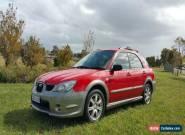 2006 Subaru impreza rv luxury  for Sale